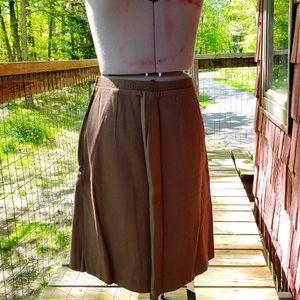Vintage 1960s Koret of California Pleated Skirt